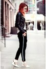 White-chicnova-shoes-black-asos-jacket-black-chicnova-pants