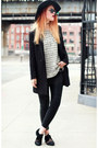 Black-jessica-buurman-shoes-off-white-h-m-sweater-black-romwe-blazer