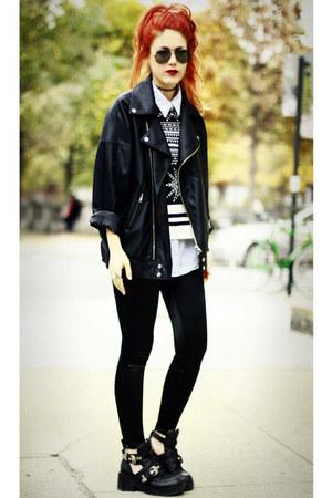 Illustrated People jumper - Modekungen jacket - shopmarkethqcom pants