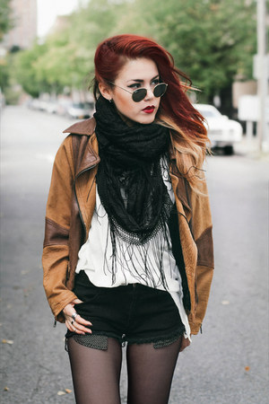 dark brown vintage jacket