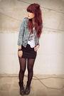 Blue-old-navy-jacket-black-self-made-skirt-black-doc-martens-shoes-silver-