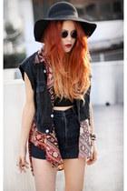 shop market hq blouse - saltwatergypy skirt