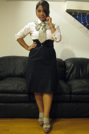 calvin klein shirt - - Gap skirt - jasmine sola outlet belt - Marni shoes