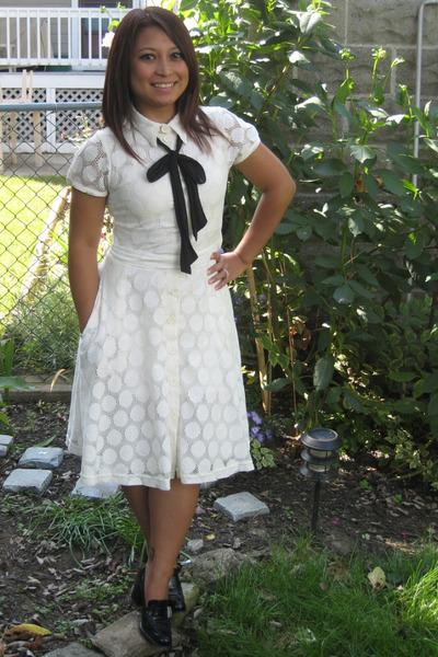 H&M dress - Prada shoes - tie