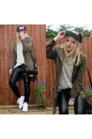 H&M jacket - obey hat - Mulberry bag - H&M pants - Primark jumper