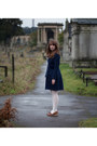 Brown-apc-shoes-navy-seesun-dress-blue-tba-coat-ivory-faulke-tights-navy