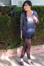 Gray-silencenoise-cardigan-club-monaco-top-pavonine-shorts-black-urban-out