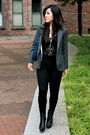 Black-wilfred-top-black-community-pants-gray-silencenoise-blazer-black-zar