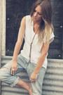 Boyfriend-jeans-sass-bide-jeans-lemule-necklace-tank-top-lemule-top