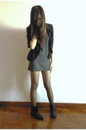 Zara boots - Mango blazer