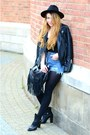 Black-ankle-boots-mango-boots-black-zara-hat