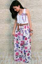 Carmini skirt - Carmini shirt - Arezzo belt