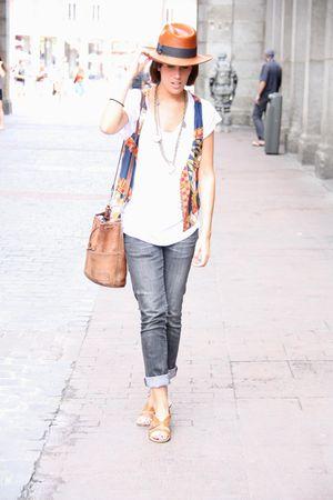 vest - hat - purse