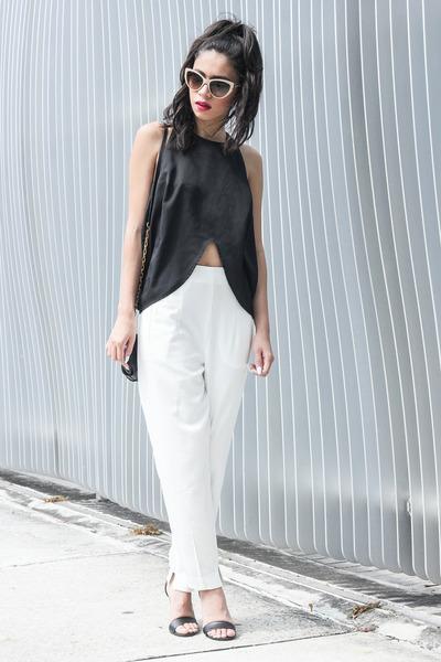 Shakuhachi top - Stella McCartney sunglasses - daily look panties
