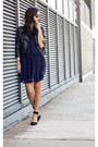 Chiffon-dress-dv-by-dolce-vita-dress-asos-jacket-wayfarer-rayban-sunglasses