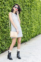 Runway Bandits dress - JCrew bag