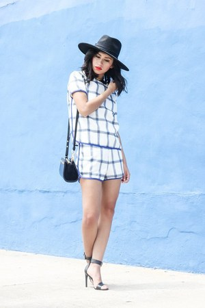 wide brim hm hat - matching set The Scarlet Room shorts