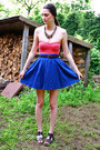 H-m-top-h-m-skirt-forever-21-necklace-braided-belt-unknown-brand-belt-fo