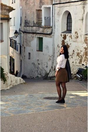brown Bershka skirt