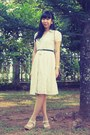 Ivory-lace-dress-dark-brown-vintage-christian-dior-bag-ivory-iwearup-wedges