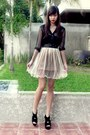 Black-f-stop-top-shop-vintage-finds-skirt-cintura-belt-black-shoes