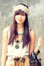 Bought-online-accessories-camel-random-accessories-forever-21-top-vanilla-