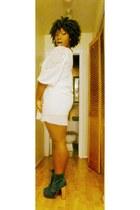 babydoll dress Forever 21 dress - suedeplatform Steve Madden shorts