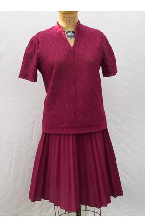red Cintura dress