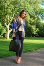 Navy-kimono-zara-blazer-black-leather-bag-zara-bag-navy-h-m-pants