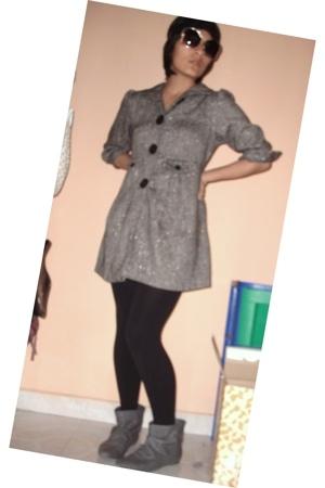 coat - leggings - shoes