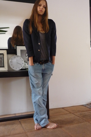 woolies blazer - aa top - Tommy Hilfiger jeans