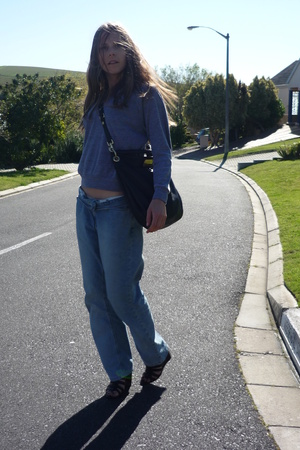 Tommy Hilfiger jeans - aa shirt - Marc by MJ purse - Ninewest shoes
