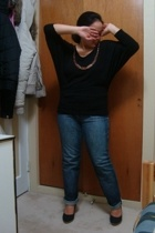 Sirens top - Old Navy jeans - Celine shoes