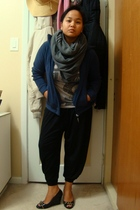 aa scarf - Divi top - jacket - Divi pants - SM shoes