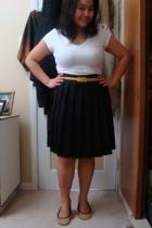 Suzy Shier shirt - joe fresh style belt - Old Navy skirt - shoebox shoes