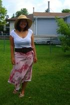 Smart Set top - Sirens belt - YRYS skirt - Greenhills - Walmart hat