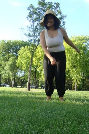 Walmart hat - Divi top - Divi pants - Divi shoes