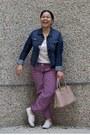 Navy-banana-republic-jacket-light-pink-prada-bag-hot-pink-kelsey-pants