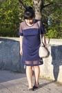 Navy-choies-dress-silver-alexander-wang-bag-black-charlotte-russe-flats