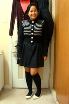 Unionbay sweater - Greenhills dress - SM socks - shoes