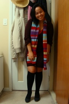 Jacob sweater - top - scarf - SM socks - Celine shoes