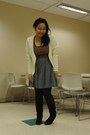 Light-yellow-h-m-cardigan-brown-sirens-top-charcoal-gray-american-apparel-sk