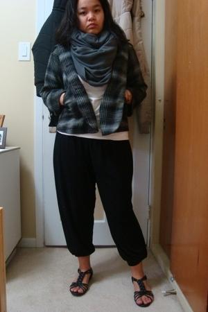 urban behavior jacket - Smart Set shirt - Divi pants - aa scarf - Divi