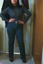 Mexx - moms belt - Divi - landmark jeans - Celine shoes