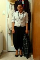 joe fresh style top - Divi necklace - Divi pants - Celine shoes - jacket