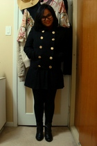 joe fresh style jacket - Divi top - skirt - Dynamite leggings - Sirens boots