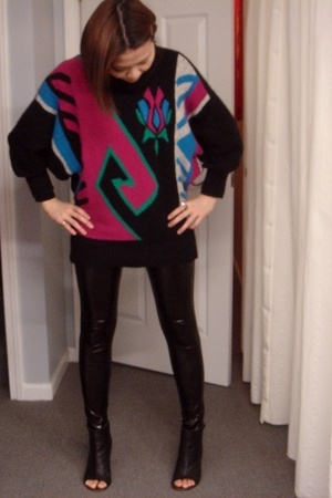 f21 leggings - Dolce Vita shoes