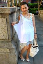 Zara blouse - eley kishimoto dress - Marc by Marc Jacobs shoes - Marc by Marc Ja