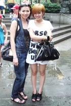 Zara top - Miss Sixty jeans - Nine West shoes - Zara dress - Nine West shoes - M