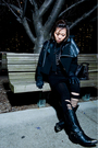 Black-cdg-jacket-black-dress-black-h-m-leggings-black-shoes-black-access
